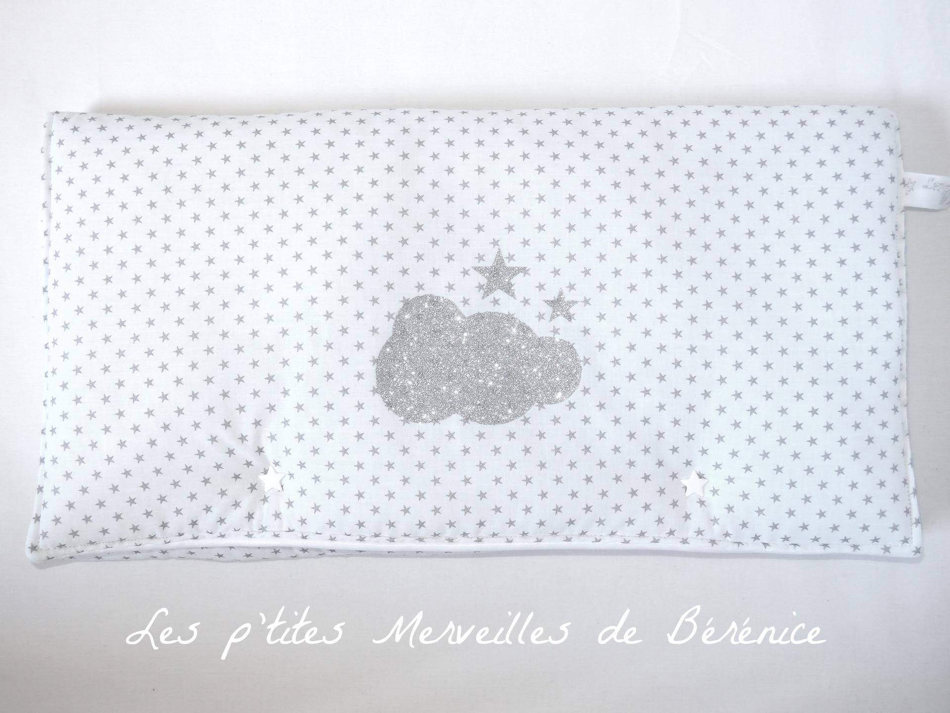 tapis langer nomade molletonn nuage toiles les p 39 tites merveilles de b r nice. Black Bedroom Furniture Sets. Home Design Ideas