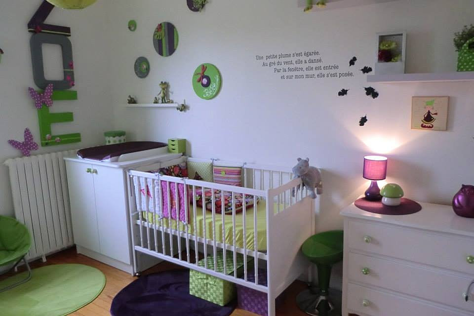 chambre bebe gris vert avec des id es int ressantes pour la conception de la chambre. Black Bedroom Furniture Sets. Home Design Ideas
