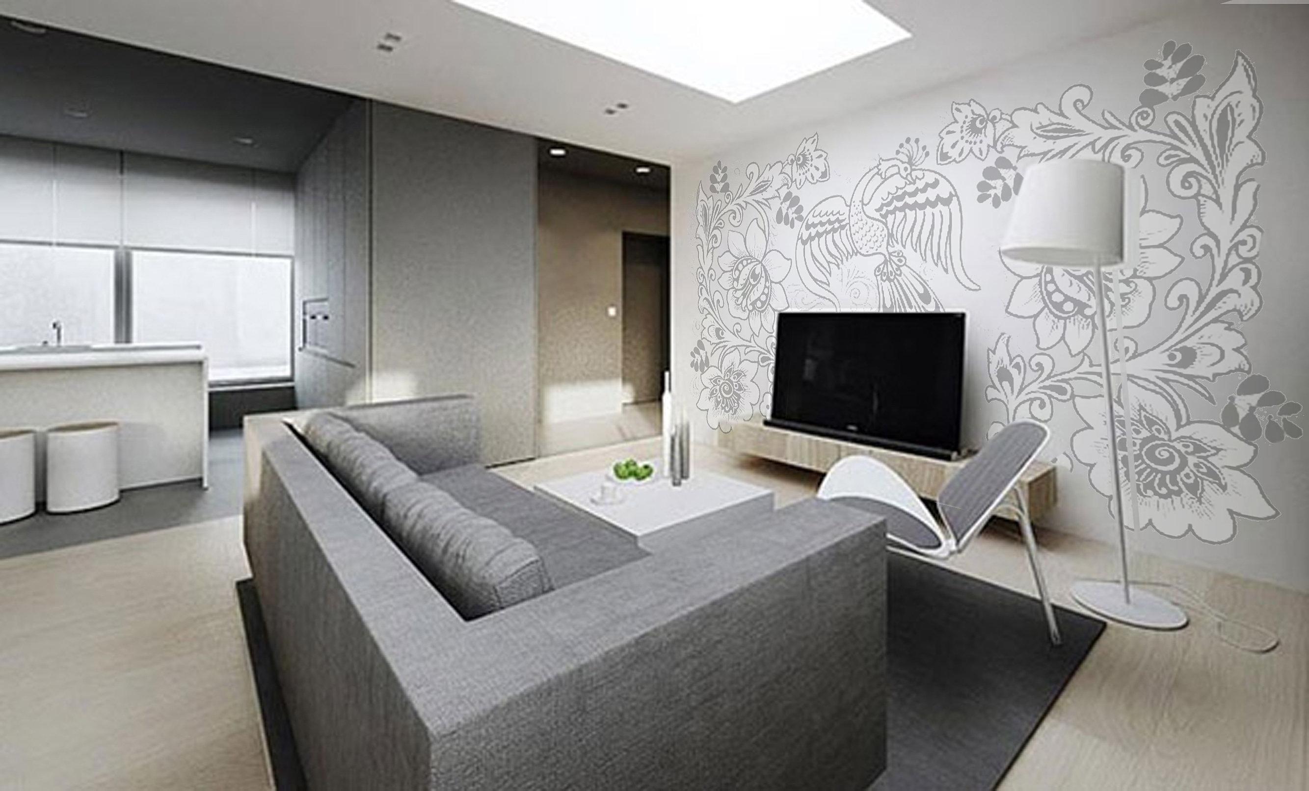 Интерьер минимализм квартир фото