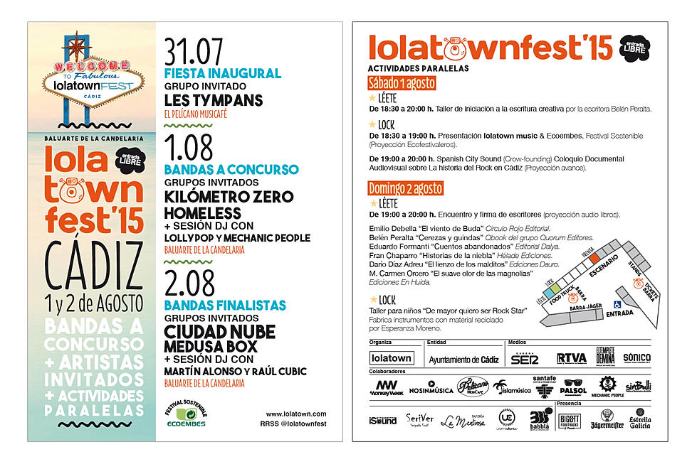 Ecofestivaleros en LolaTown con Sostenibilidad a Medida