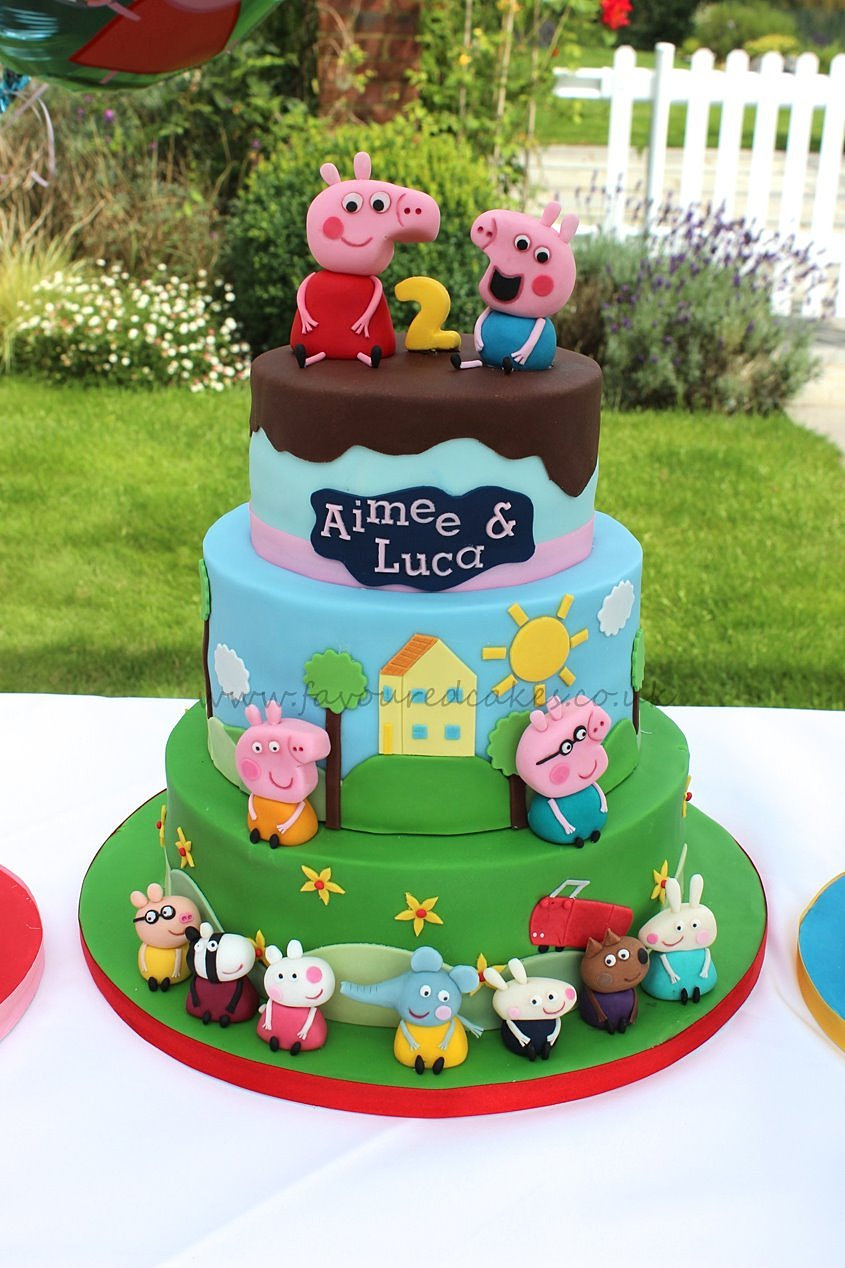 Pig Birthday Cake Uk