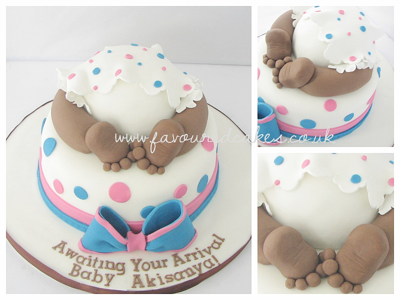 Unisex Baby Shower Cake Images : Favoured Cakes, Belvedere, Bexley, Kent Baby Bum Cake ...