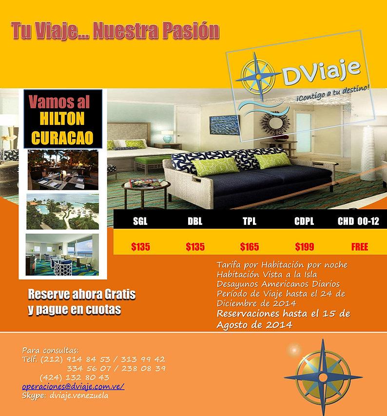 Oferta especial para Paquetes a Curacao