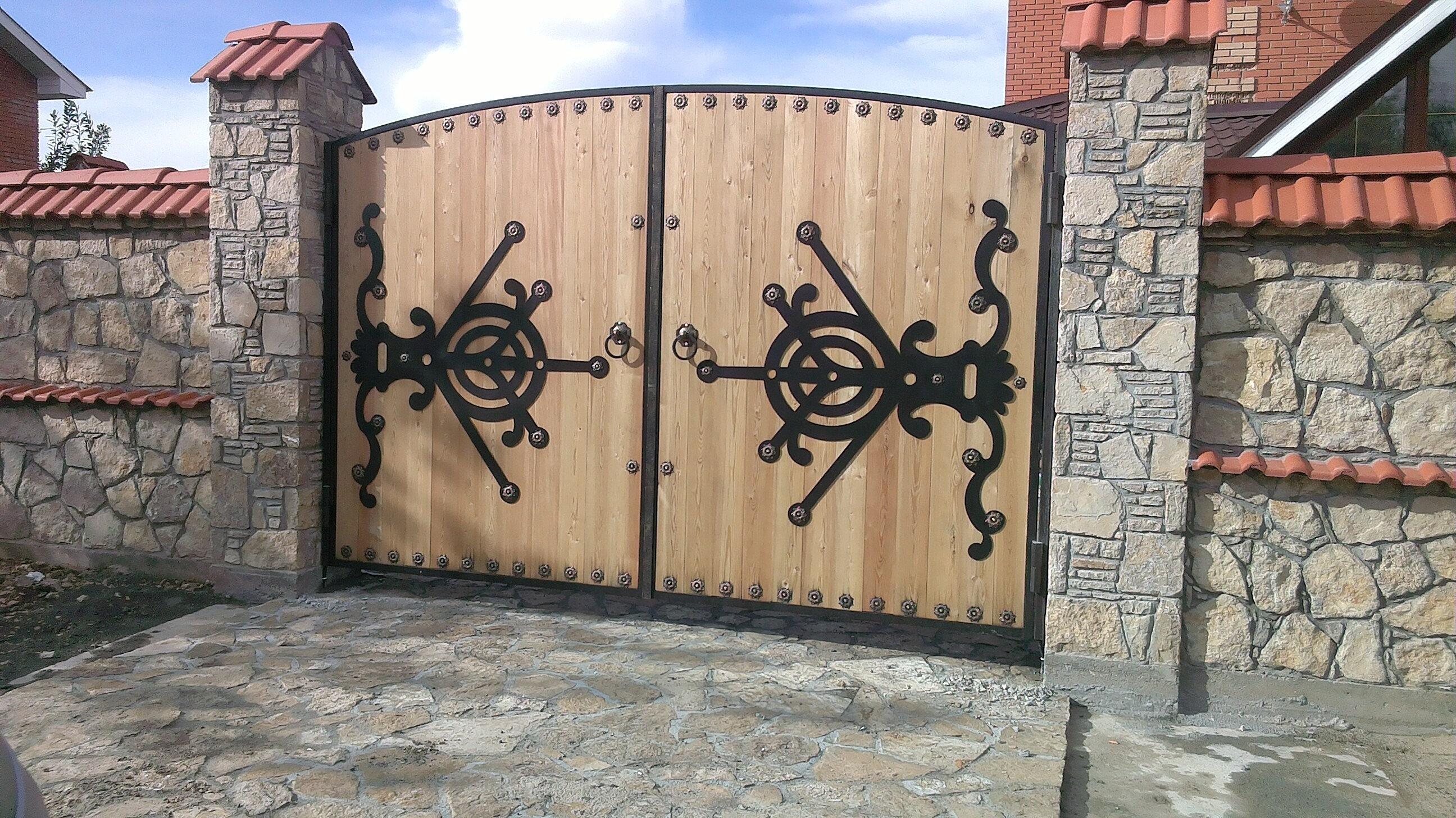 Калитки и ворота в казани хорошие ворота сделать