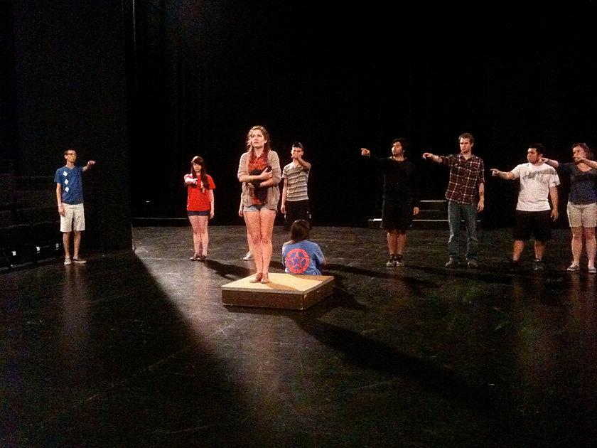Rehearsal, Scarlet Letter UT Austin