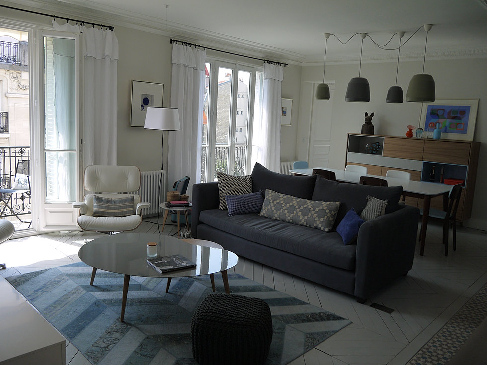 Laurent cayron architecte d 39 int rieur boulogne billancourt notre dame - Caravane d architecture ...