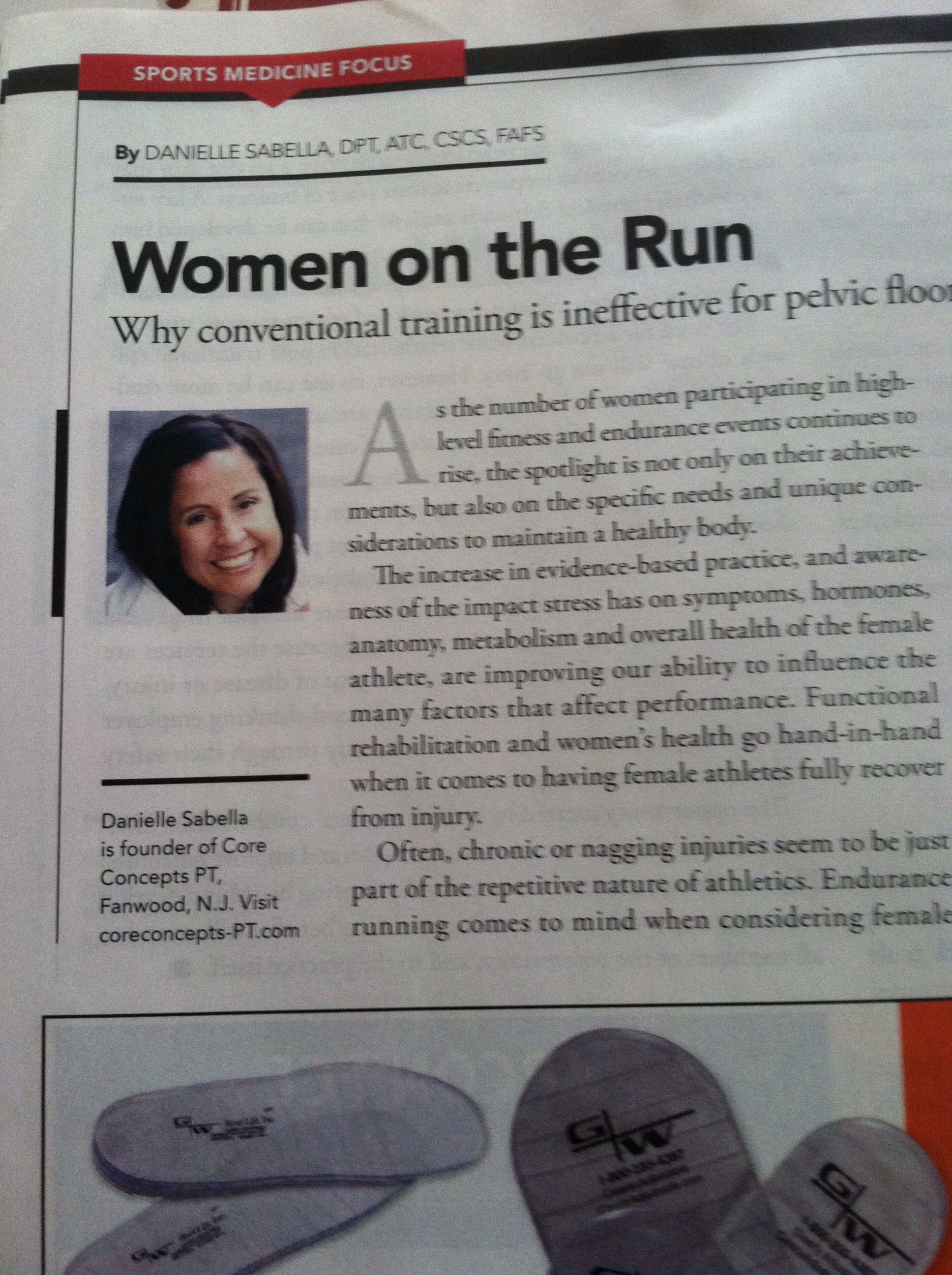 Advance physical therapy magazine - As The Rise Of Women Participating In High Level Fitness And Endurance Events Continues To Grow The Spotlight Is Not Only On Their Achievements