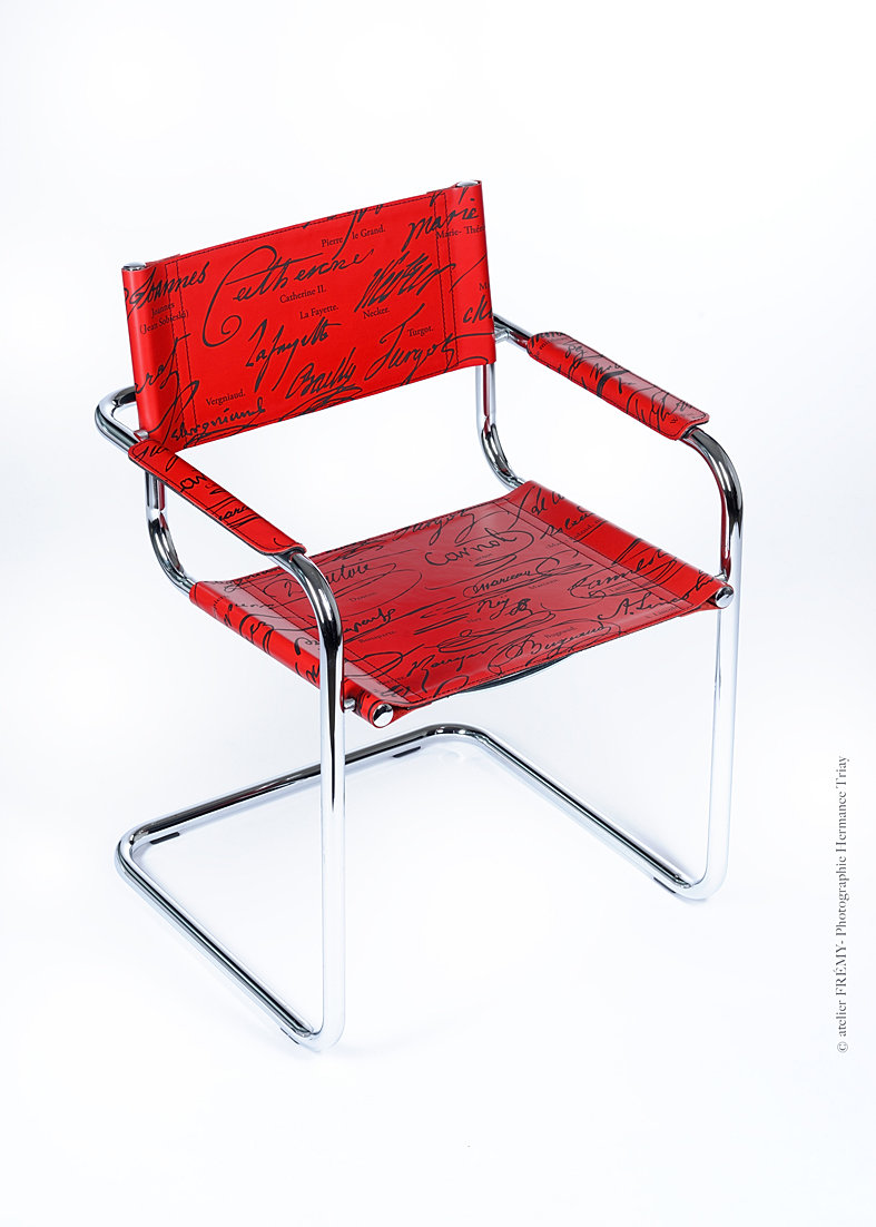 Marcel breuer chair - Atelier Fremy Chair Signatures