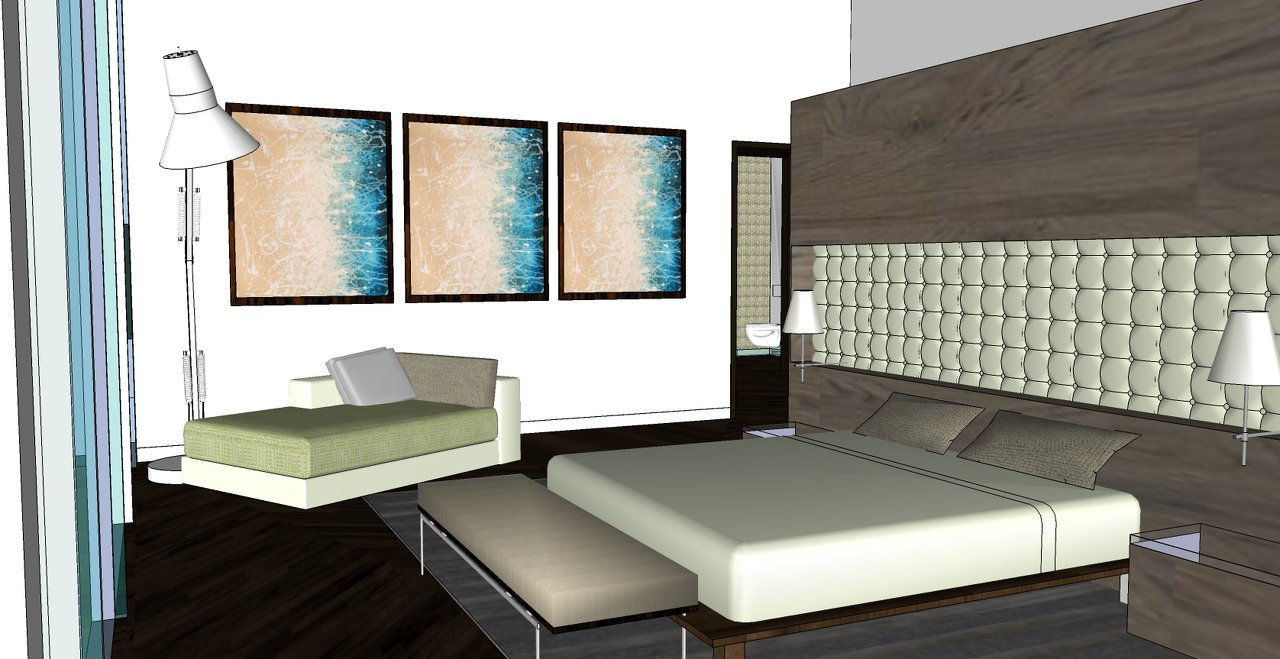 Image Gallery Sketchup Bedroom