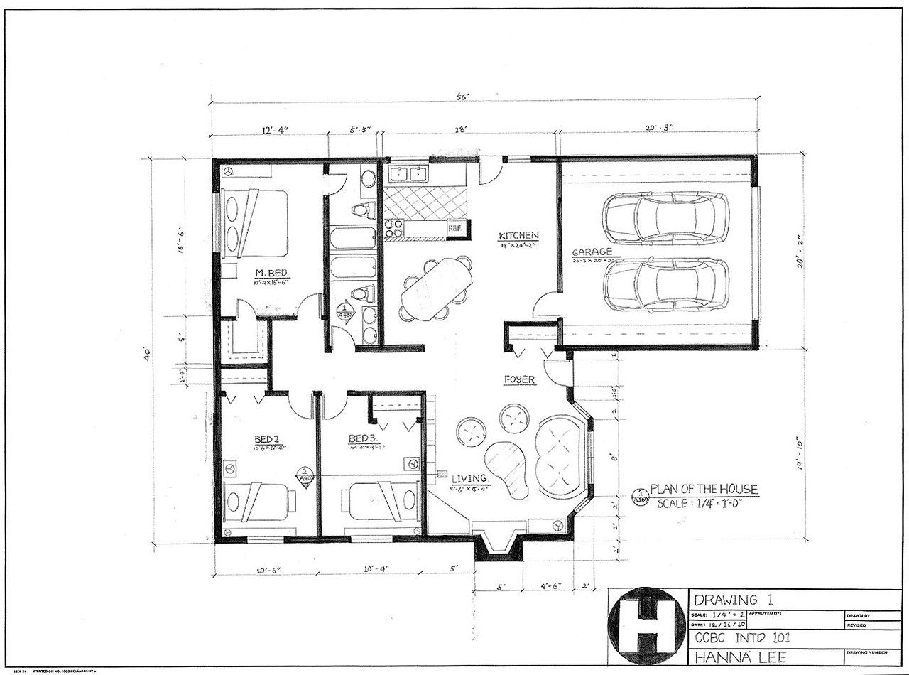 Drafting House Plans - 45degreesdesign.com