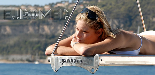 euromed, opacmare, passerelle hydraulique, euromed yachting