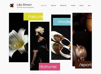 Photographe Moderne Template - Créez un portfolio en ligne tendance grâce à ce thème moderne. Exposez vos projets en téléchargeant vos photos dans les galeries. Personnalisez le texte pour raconter votre histoire. Modifiez le design, jouez avec la couleur et exprimez votre sens de l'esthétique !
