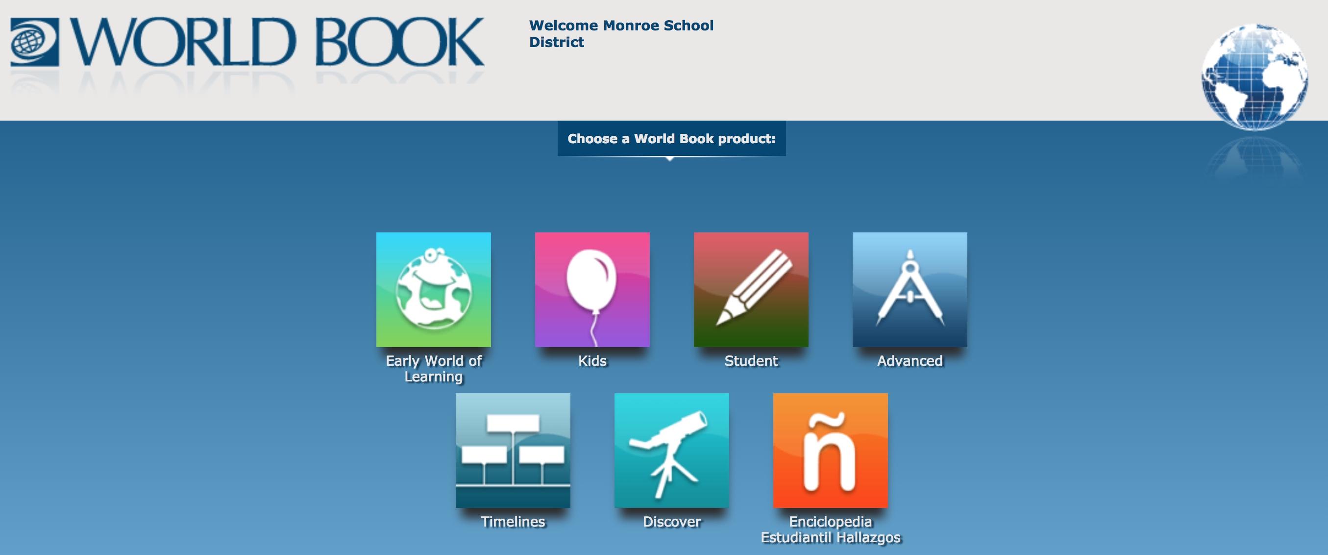 Image result for world book online student