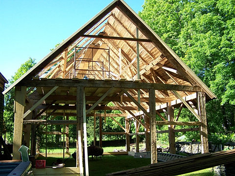 Gunstock Barn Frame