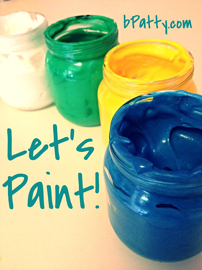 safe finger paints for toddlers