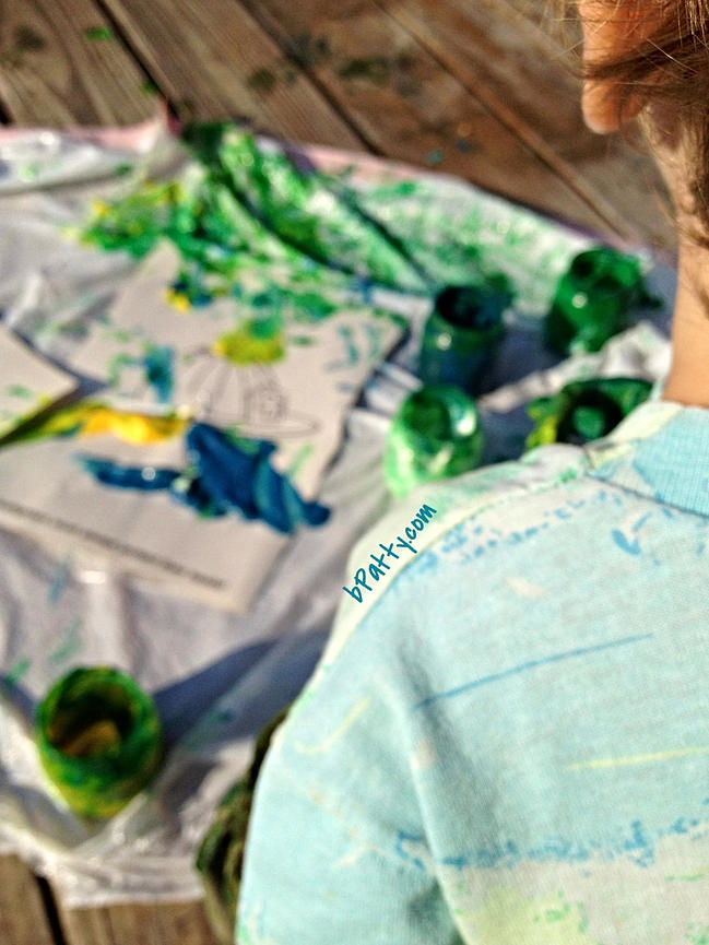 how to make finger paints