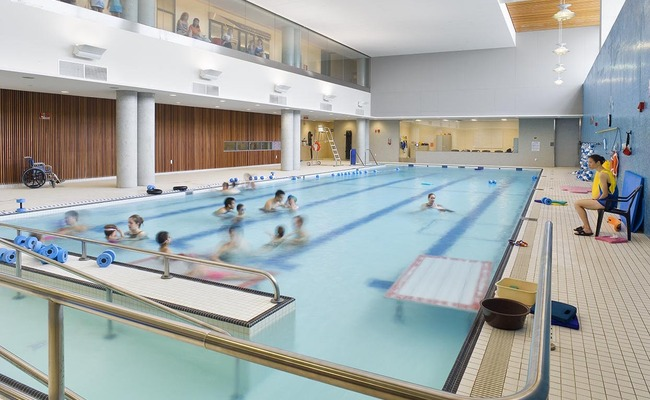 Image Gallery Hospital Pool