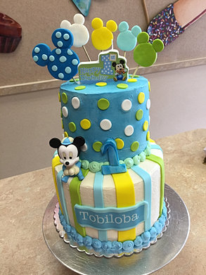 Mickey Mouse Baby Shower Cake Images : Baby Shower Cakes