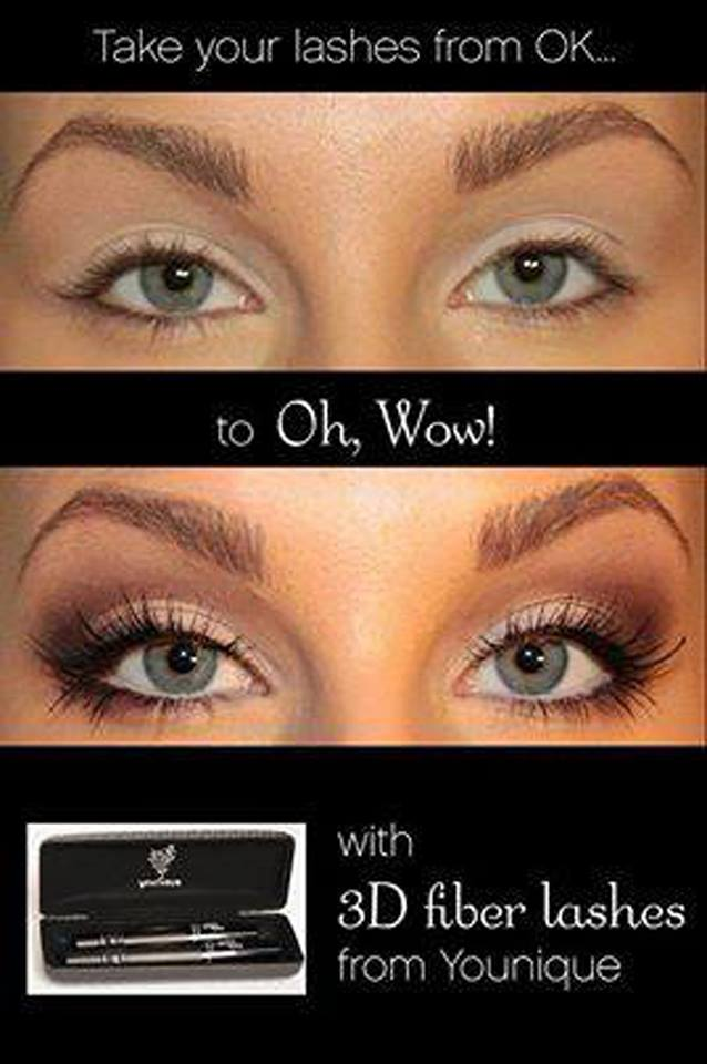 Coming to the UK!!!!   Younique Moonstruck 3D Fiber lashes