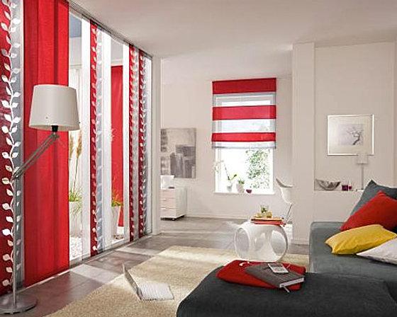beautiful gardinen wohnzimmer modern gallery - amazing design