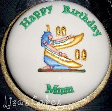 Egypt Birthday Cake