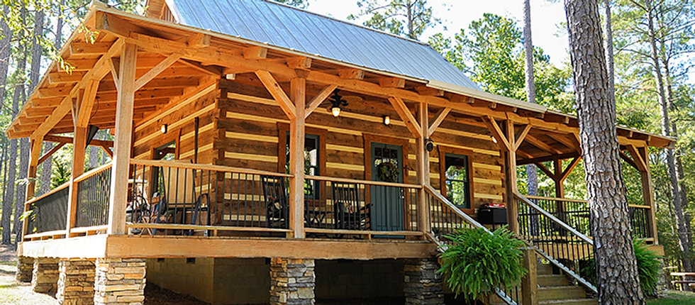 Dovetail cabins llc for Log cabin builders in california