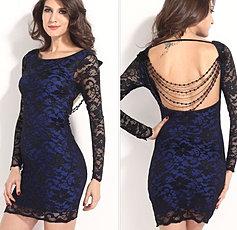 vestido Encaje negro $23000