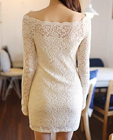 vestido polera corta BLANCA.$ 20000
