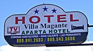 Hotel Villa Magante Dominikai Köztársaság
