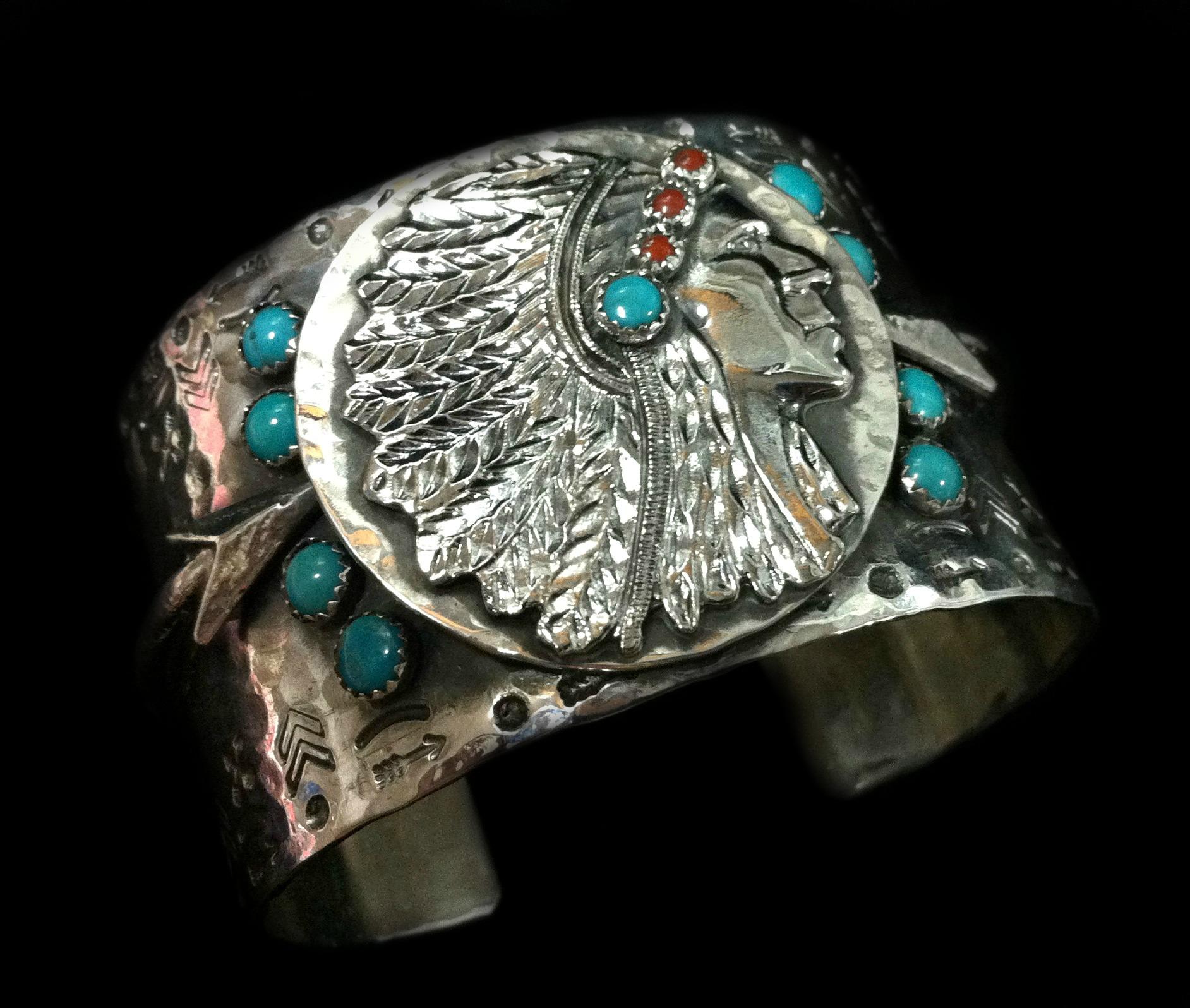 richard schmidt jewelry design big chieftain cuff
