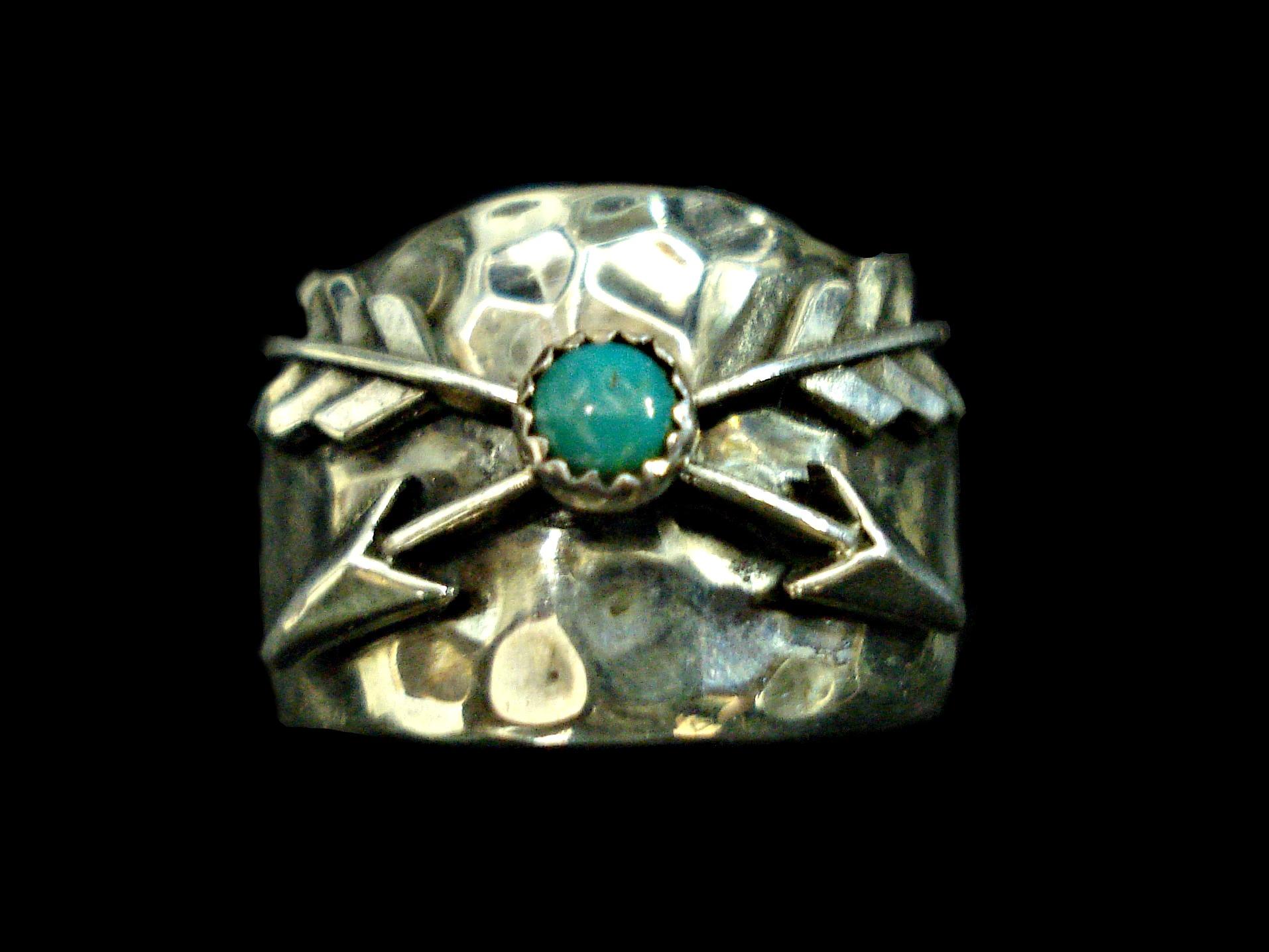 richard schmidt jewelry design crossed arrows ring
