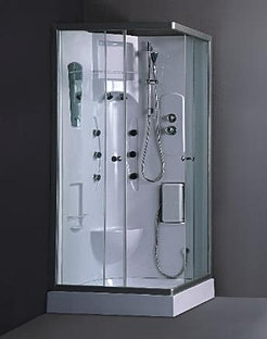 This Is A View Of The Shower Head, Shower Head Massage And Shower Faucet Of