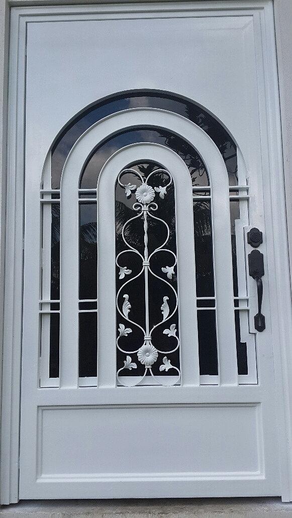 Estructuras metalicas herreria artes en metal herreros - Puertas de entrada metalicas precios ...
