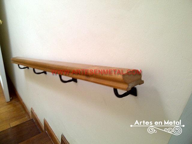 Estructuras metalicas herreria artes en metal herreros for Escaleras de madera sencillas