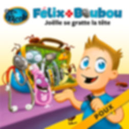 Joëlle se gratte la tête (poux),  Félix et Boubou, Éditions Dre. Nicole