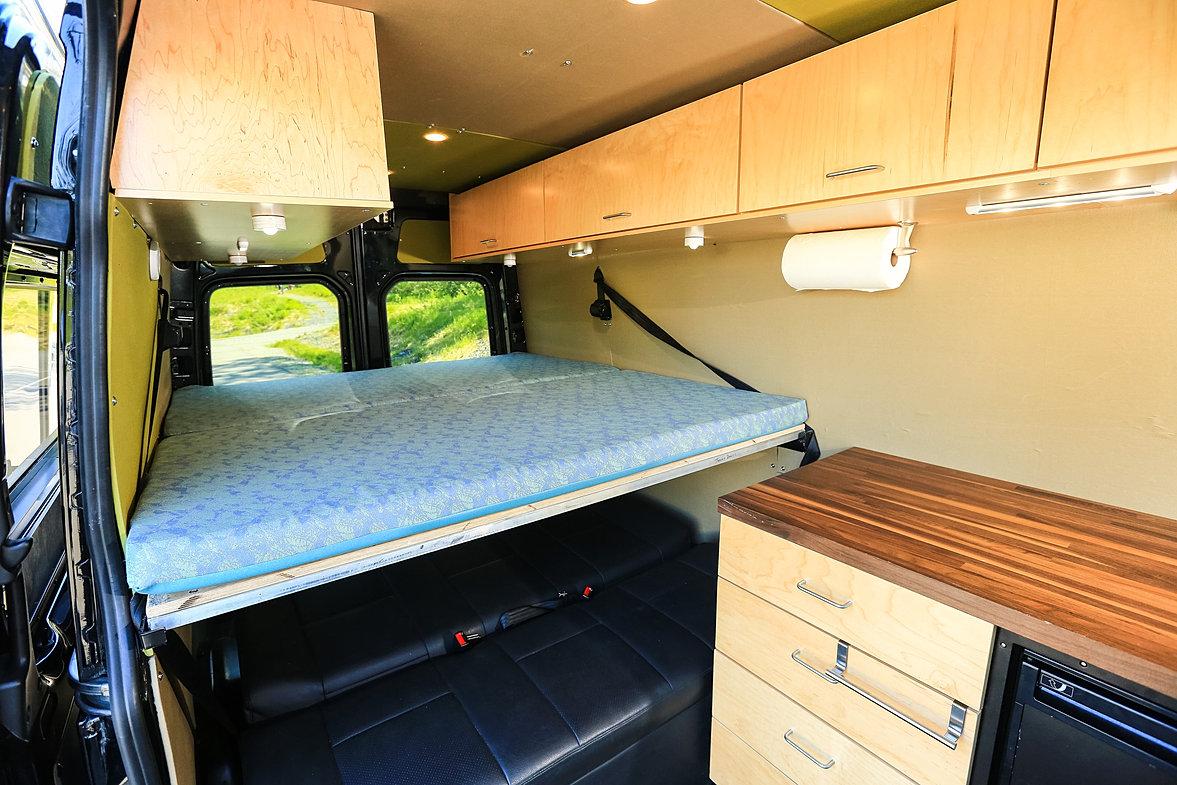 Alaska camper van rentals rent your mb sprinter van today for Mercedes benz camper van rental