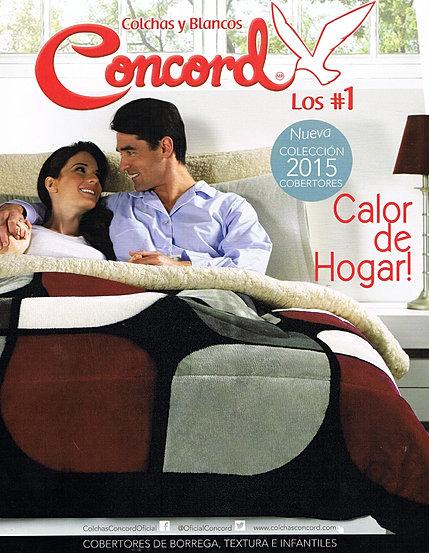 Cortinas De Baño Concord:Colchas Concord, Edredones, Cobertores y Blancos