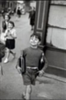 Henri Cartier Bresson fotografia bambino