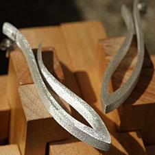 Long Grasses Earrings -mat