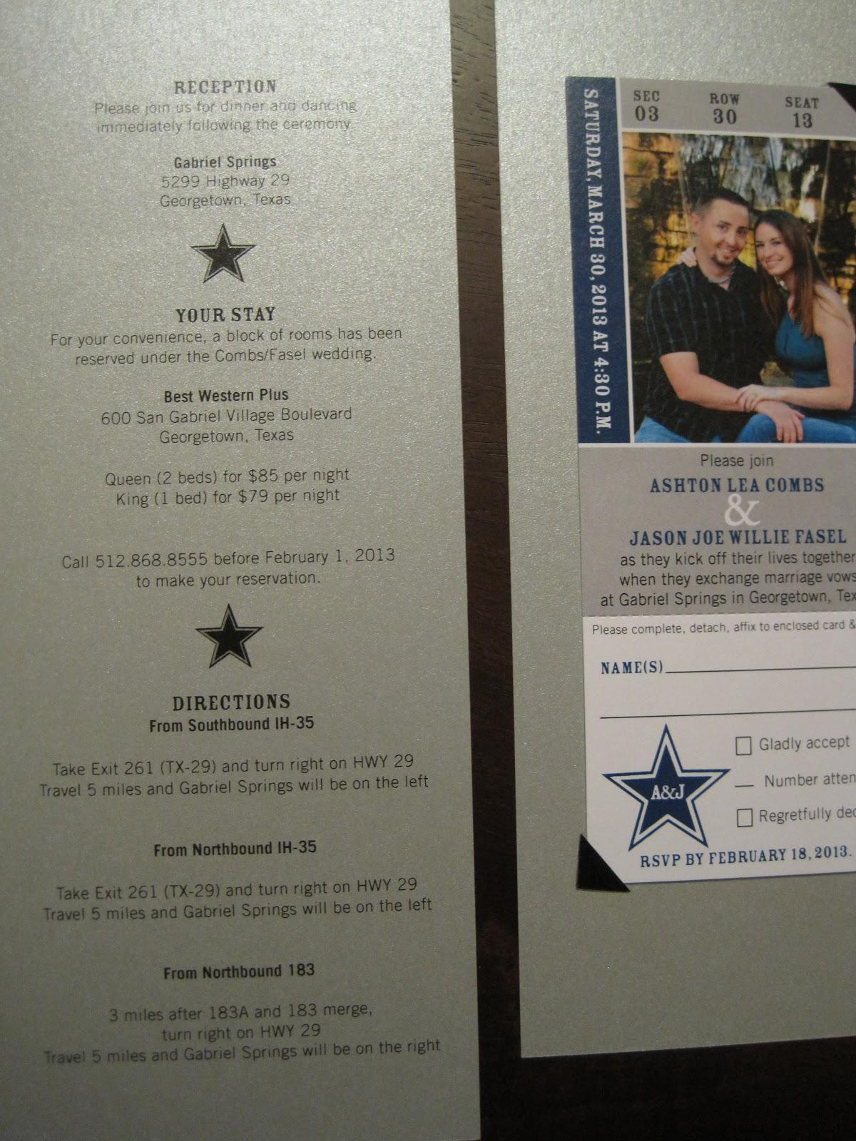 Dallas Cowboys Baby Shower Invitations Baby invitation dallas cowboy ...