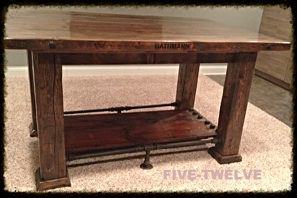 BARN WOOD PUB TABLE/BARNWOOD PUB TABLE/PUB TABLE/RECLAIMED WOOD TABLE/ - FIVE TWELVE WOODWORKING/Illinois Industrial Furniture/chicago