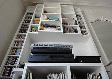architecte d 39 int rieur paris agathe proust 2013 p re lachaise biblio. Black Bedroom Furniture Sets. Home Design Ideas