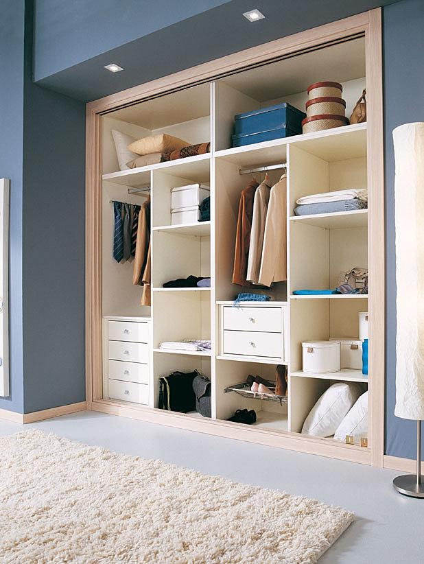 Kubo armarios empotrados en asturias muebles a medida en - Distribucion interior de armarios ...