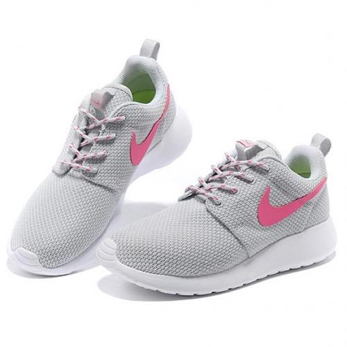 Nike Roshe Run Rosas Y Grises