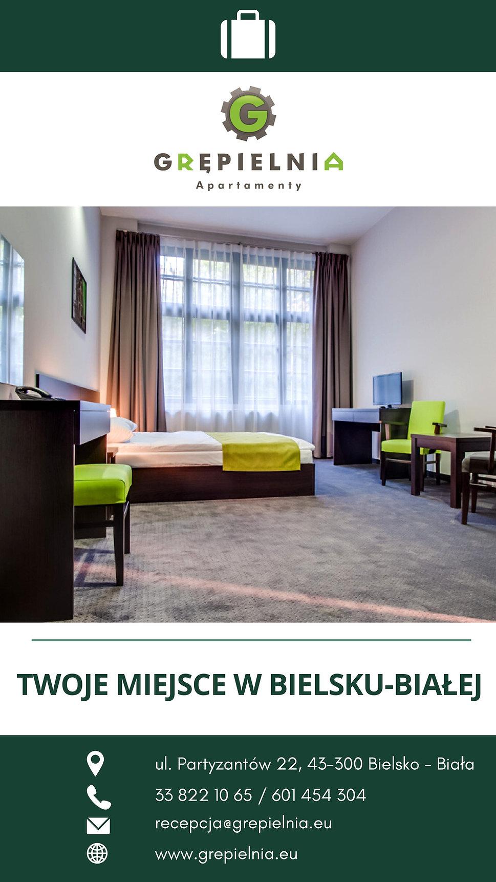 GRĘPIELNIA HOTEL & APARTAMENTY  - skróco