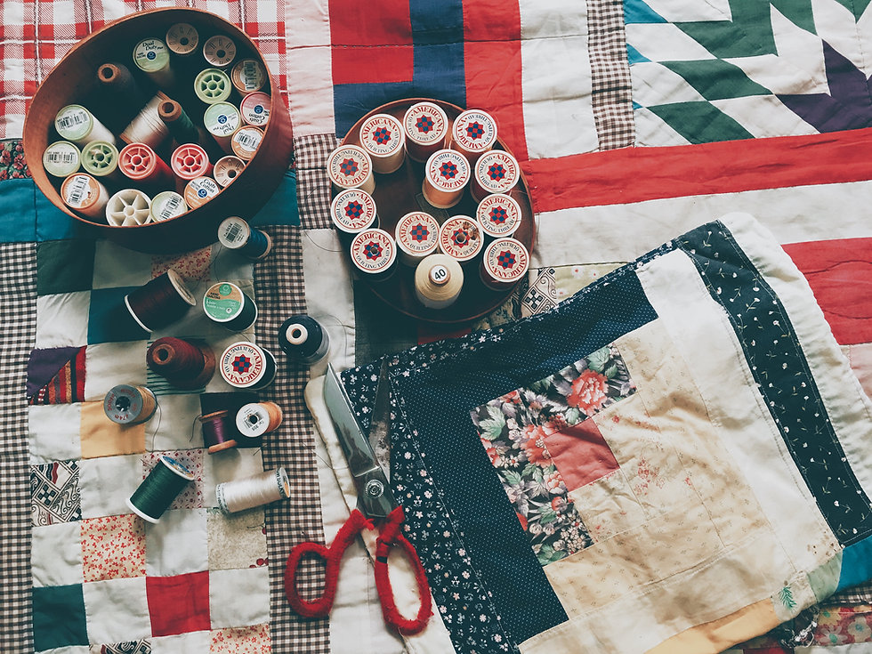 Clothing, Sewing, Quilting