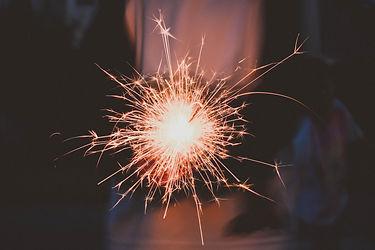 Image by Karina Carvalho sparkler firework light