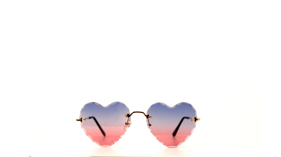 Crystal Hearts(Blue & Pink)