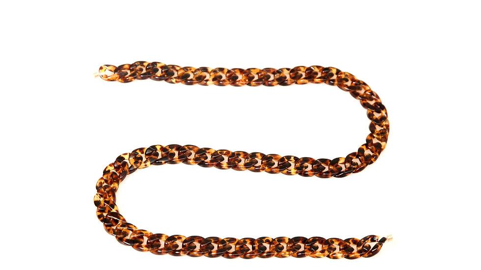 Chunky Sunglasses Chain (Tortoise)