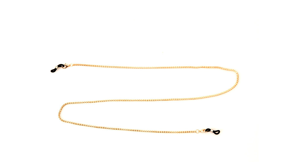 Gold Plated Eyeglasses Chain